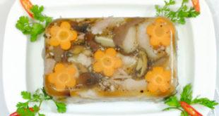 Cách nấu thịt đông ngon đãi khách ngày Tết